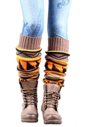 Retro /Jahrgang/Stitching/Geometrisch Komfortabel/Leg Warmers/Boot Cuff Socks/Knee-High Socks Socken/Strümpfe Socken