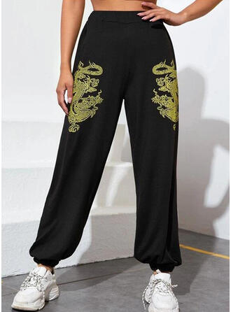 Druck Lange Lässige Kleidung Hosen