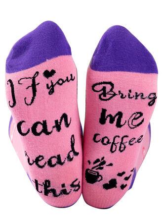 Print Comfortable/Crew Socks/Unisex Socks