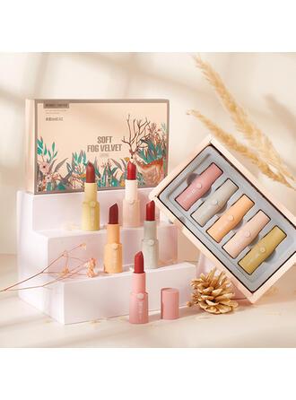 5 PCS Matte Classic Velvet Lipsticks Lip Sets With Box