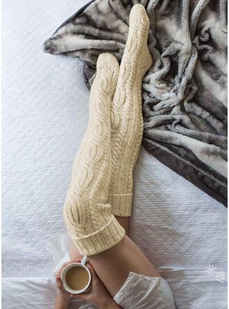 Einfarbig Atmungsaktiv/Knee-High Socks Socken/Strümpfe Socken