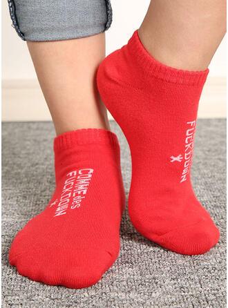 Letter/Print Breathable/Ankle Socks/Unisex Socks