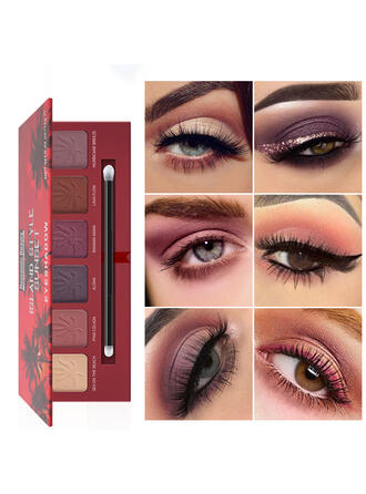 6-color Matte Shimmer Classic Eyeshadow With Box