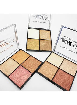 4-color Classic Highlight & Bronze Eyeshadow With Box