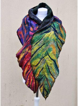 Leaves/Colorful fashion/Boho/Warm Scarf