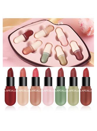 7 PCS Matte Classic Velvet Lipsticks Lip Sets With Box