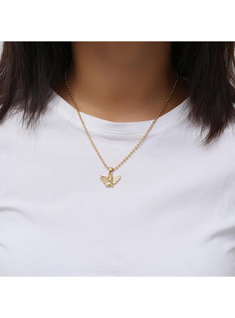 Sexy Charming Artistic With Gold Plated Minimalist Women's Ladies' Necklaces 1 PC