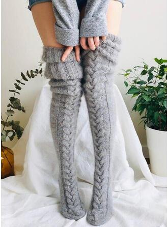 Einfarbig Warmen/Atmungsaktiv/Komfortabel/Knee-High Socks Socken/Strümpfe Socken