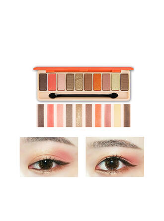 10-color Matte Shimmer Classic Eyeshadow Palette With Box