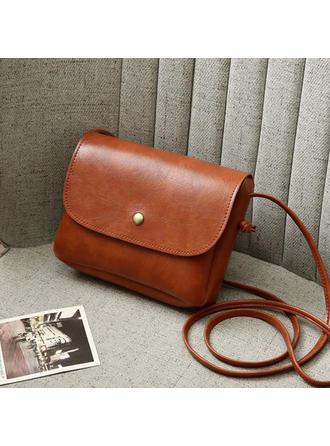 Solid Color Crossbody Bags/Shoulder Bags