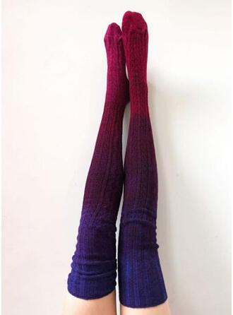 Gradient color Warm/Comfortable/Women's/Knee-High Socks Socks/Stockings